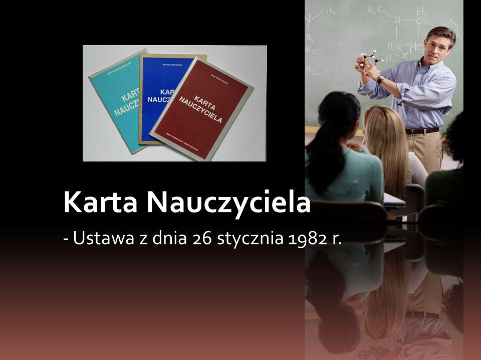 Zakres działania ustawy Ustalenie, że KN obejmuje nauczycieli prowadzących bezpośrednio proces dydaktyczny (podstawa programowa) z dziećmi (nauczyciele przedmiotowi).