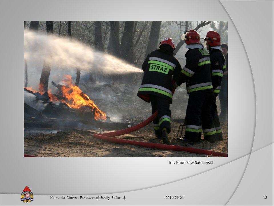 fot. Radosław Sałaciński 2014-01-01Komenda Główna Państwowej Straży Pożarnej13