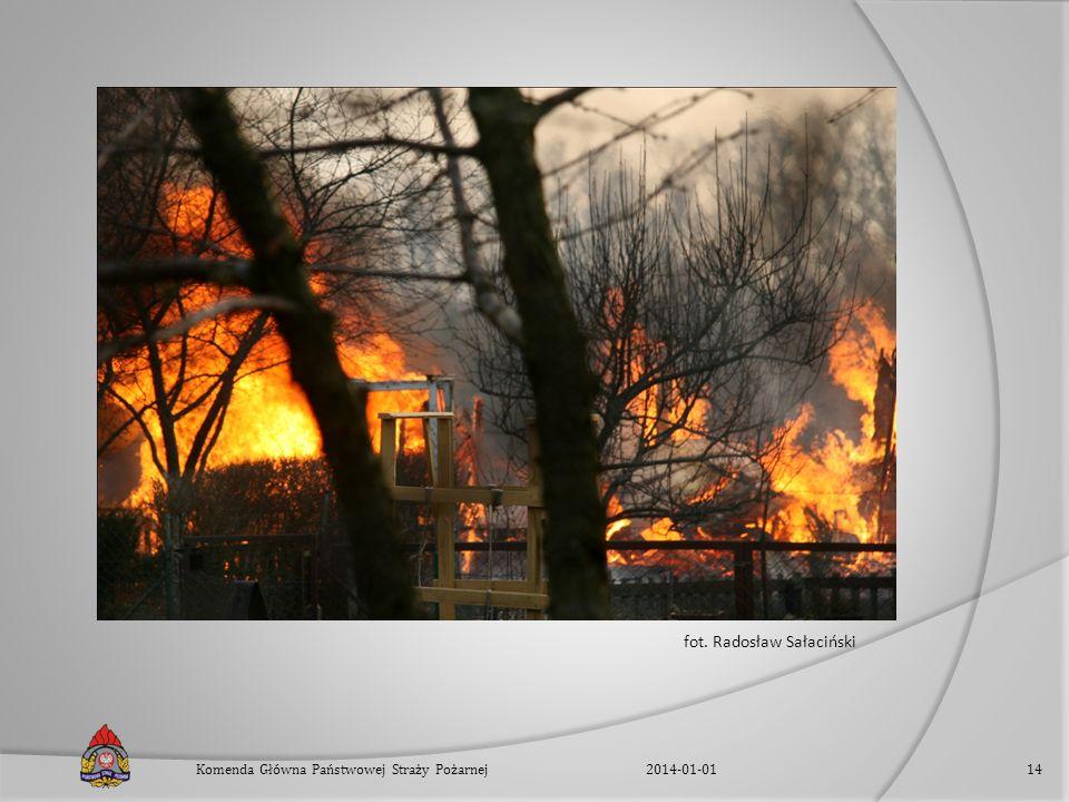 fot. Radosław Sałaciński 2014-01-01Komenda Główna Państwowej Straży Pożarnej14