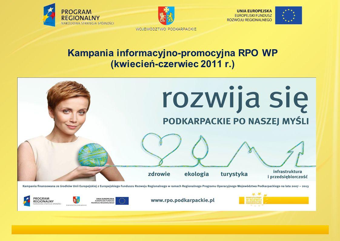 Kampania informacyjno-promocyjna RPO WP (kwiecień-czerwiec 2011 r.)