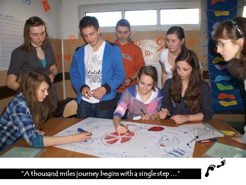 Do gminy Czorsztyn 7 lutego 2011, wprowadziły się 2 nowe rodziny: A thousand miles journey begins with a single step …