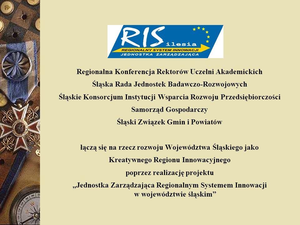 Priorytet 7: Kształtowanie gospodarki regionalnej wspieranej silnymi klasterami technologicznymi Siec Centrów Doskonałości BioMedTech-Silesia : Centrum Doskonałości POLIMERY 2000+, Centrum Doskonałości Badań i Nauczania Biologii Molekularnej Macierzy i Nanotechnologii, Centrum Doskonałości Nowych Technologii na Rzecz Leczenia Chorób Serca Procordis Centrum Doskonałości Działu Badawczego Centrum Onkologii w Gliwicach