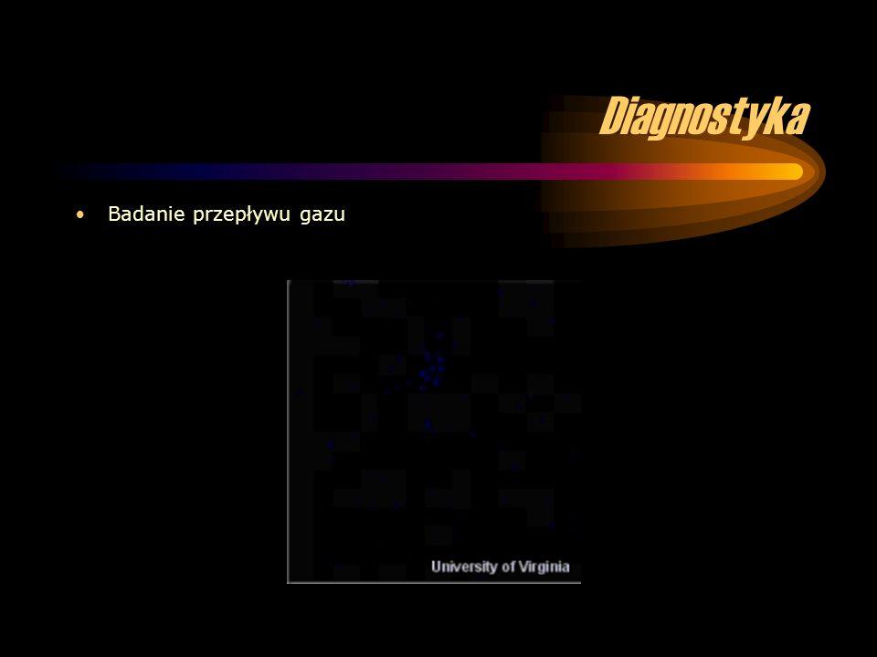 Diagnostyka Badanie przepływu gazu