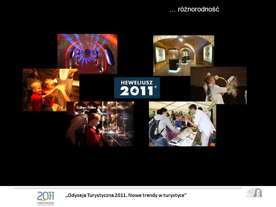Odyseja Turystyczna 2011. Nowe trendy w turystyce … różnorodność