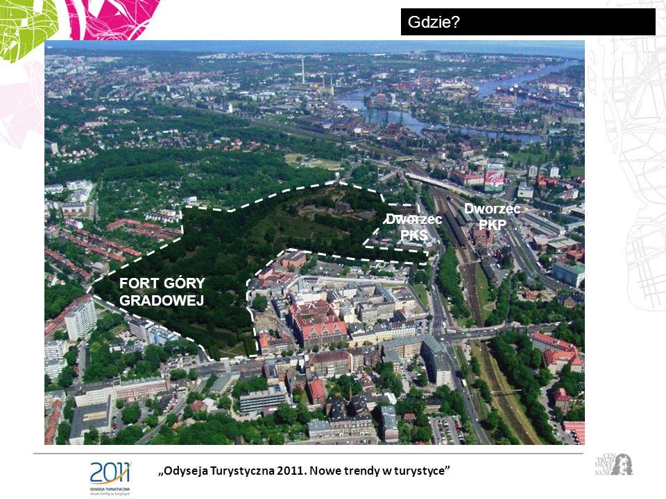 FORT GÓRY GRADOWEJ Dworzec PKS Dworzec PKP Odyseja Turystyczna 2011. Nowe trendy w turystyce Gdzie