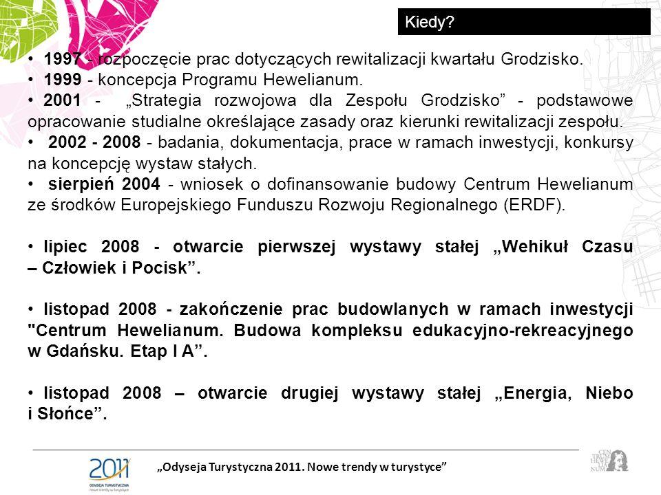 1997 - rozpoczęcie prac dotyczących rewitalizacji kwartału Grodzisko.