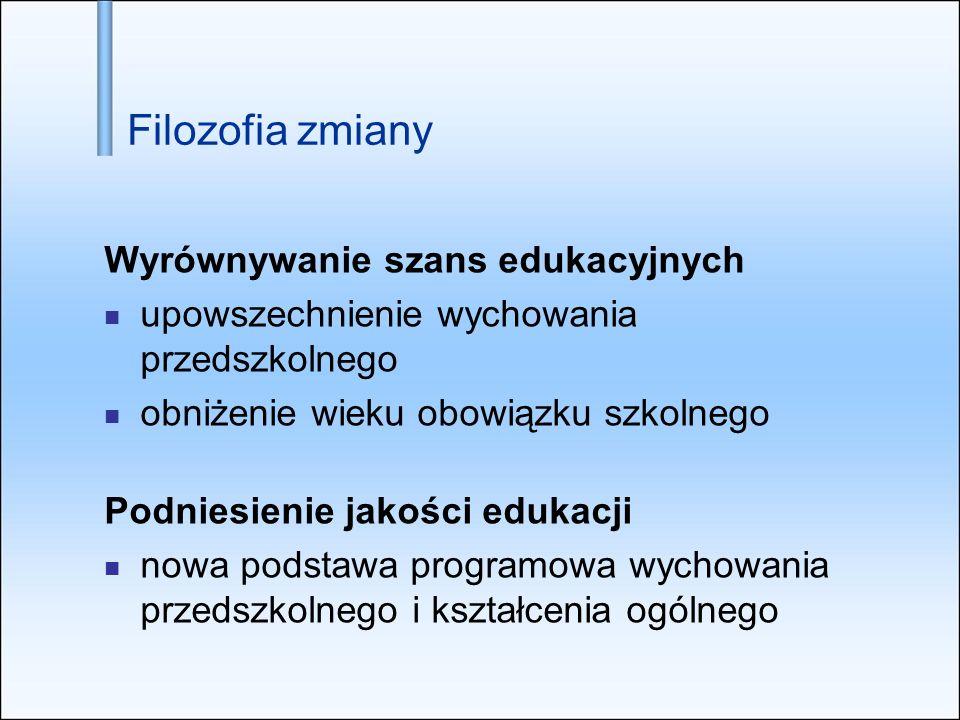 Upowszechnianie wychowania przedszkolnego Od 1 września 2009 r.