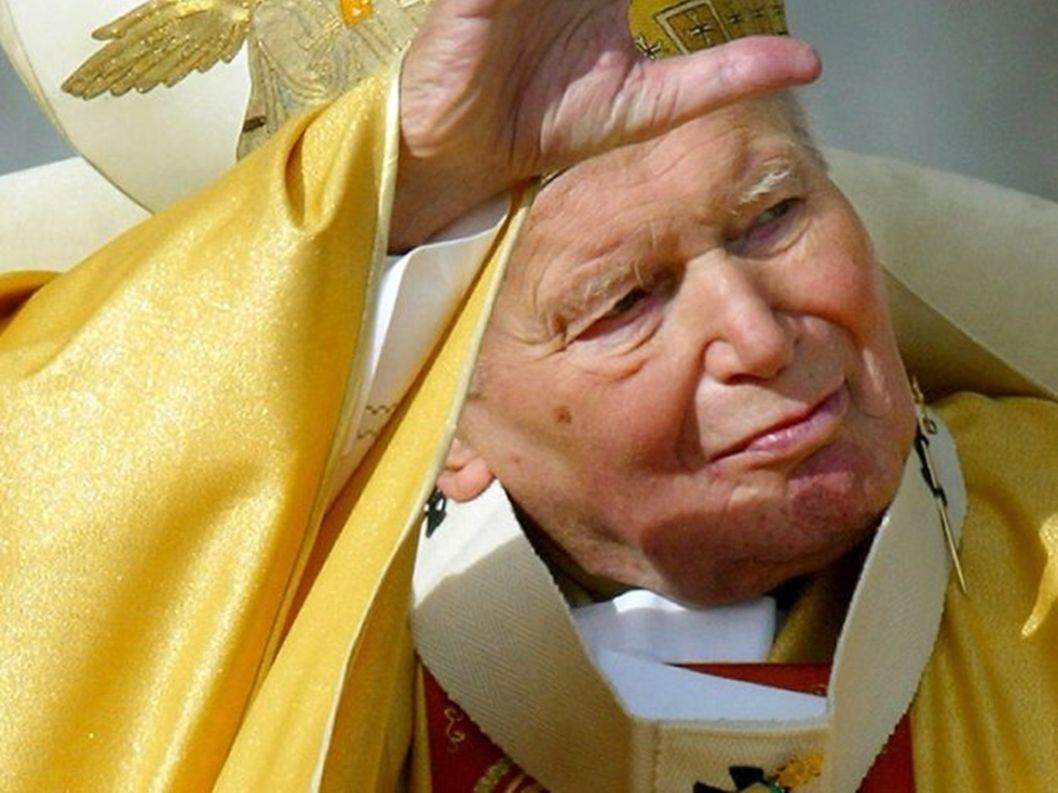Papież Jan Paweł II nasz wierny przyjaciel Na zawsze zostanie w naszych sercach. Często powtarzał że to my młodzi ludzie Jesteśmy przyszłością i nadzi