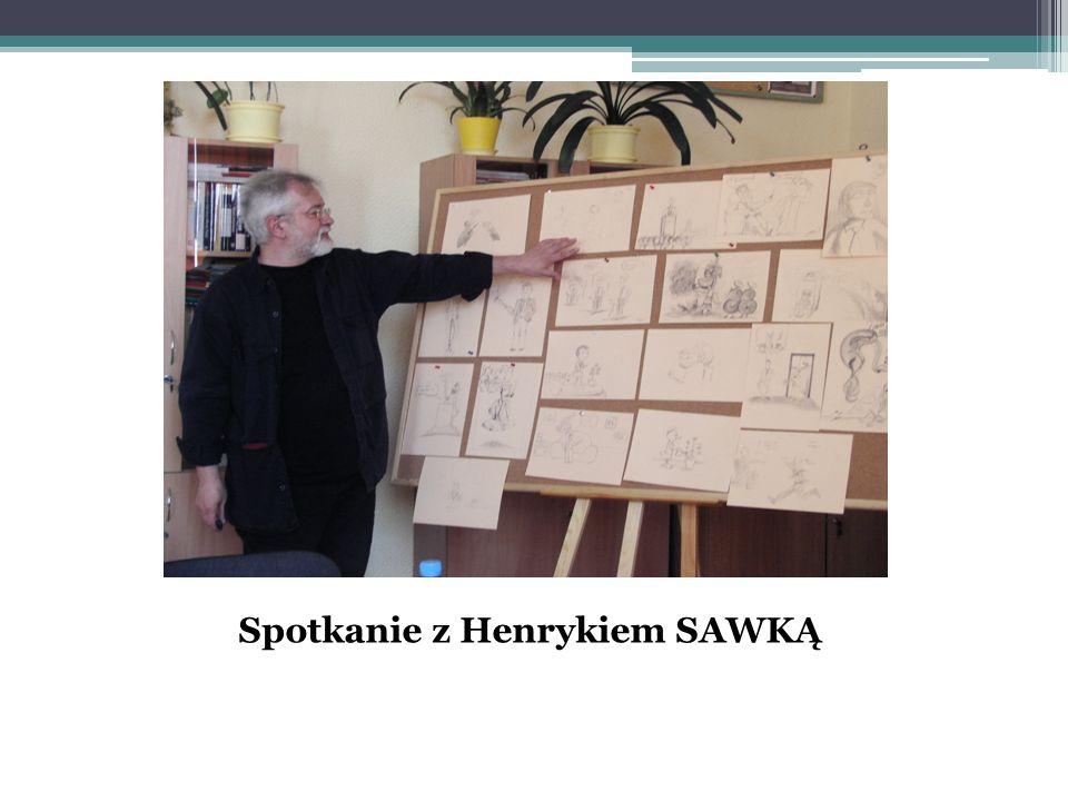 Spotkanie z Henrykiem SAWKĄ