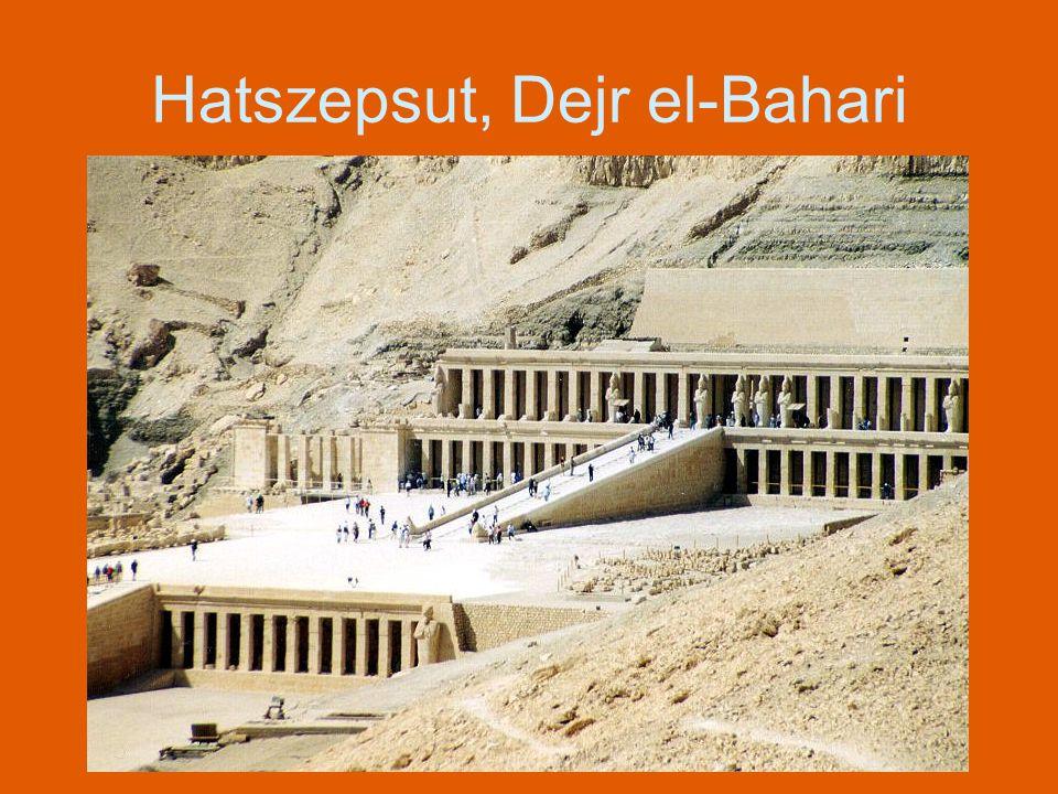 DEIR-EL-MEDINA Stanowisko w Górnym Egipcie, na lewym brzegu Nilu, stanowi część nekropoli tebańskiej.