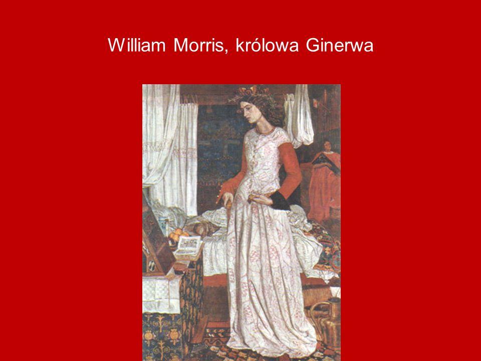 William Morris, królowa Ginerwa