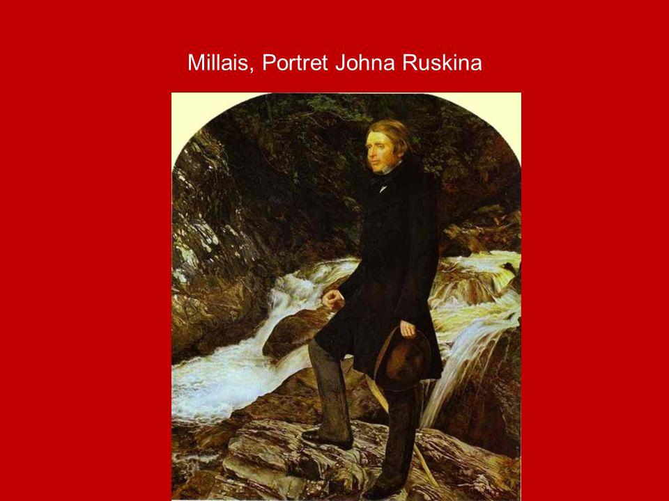 Millais, Portret Johna Ruskina