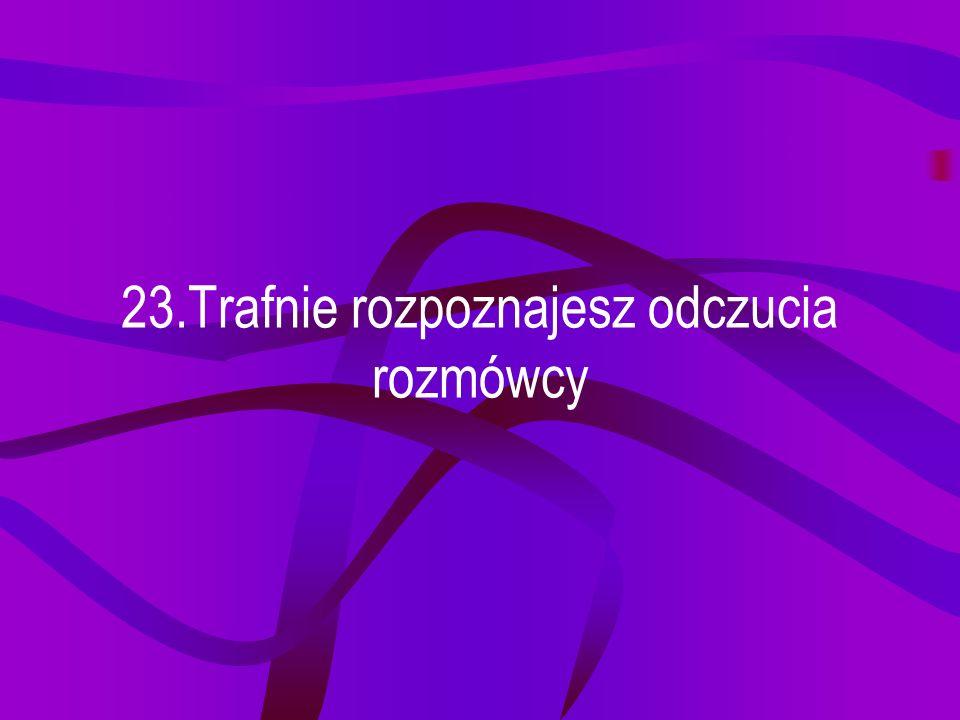 22.Obrazki ułatwiają Ci zrozumienie i zapamiętanie