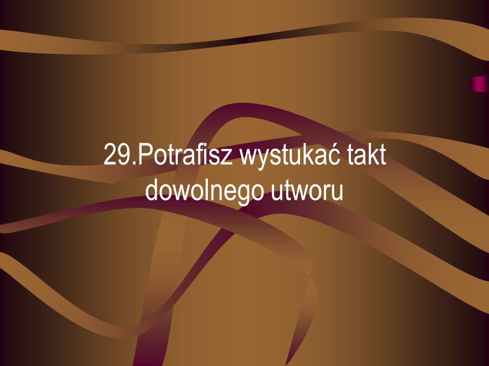 28.Potrafisz długo utrzymać świeże kwiaty w wazonie