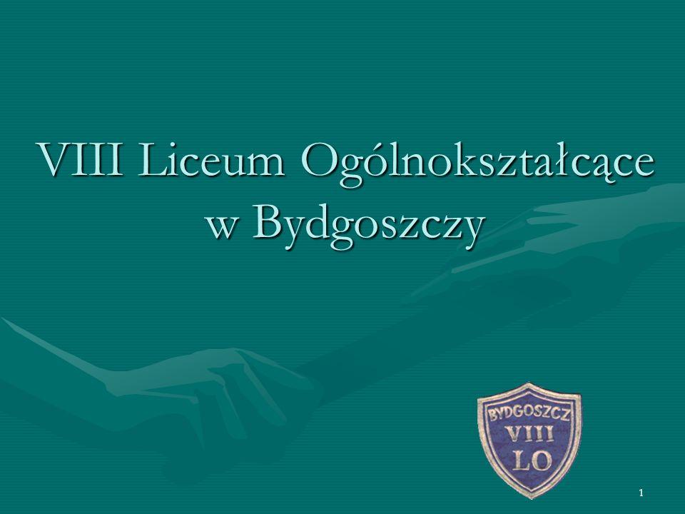 1 VIII Liceum Ogólnokształcące w Bydgoszczy