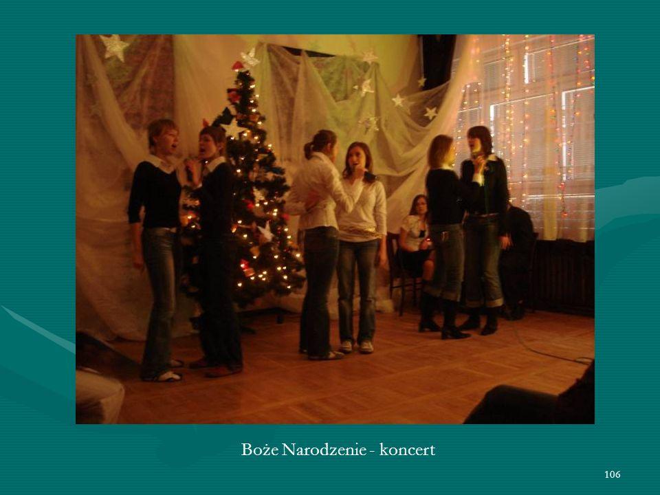 106 Boże Narodzenie - koncert