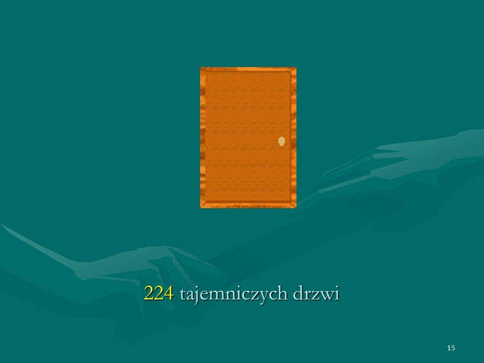 15 224 tajemniczych drzwi
