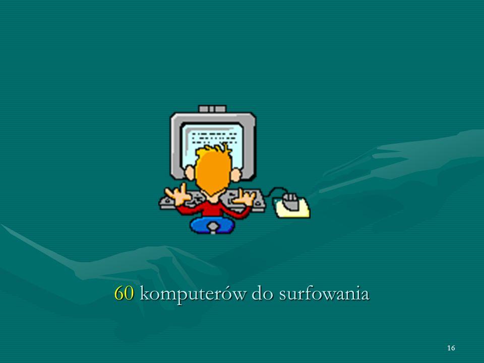 16 60 komputerów do surfowania