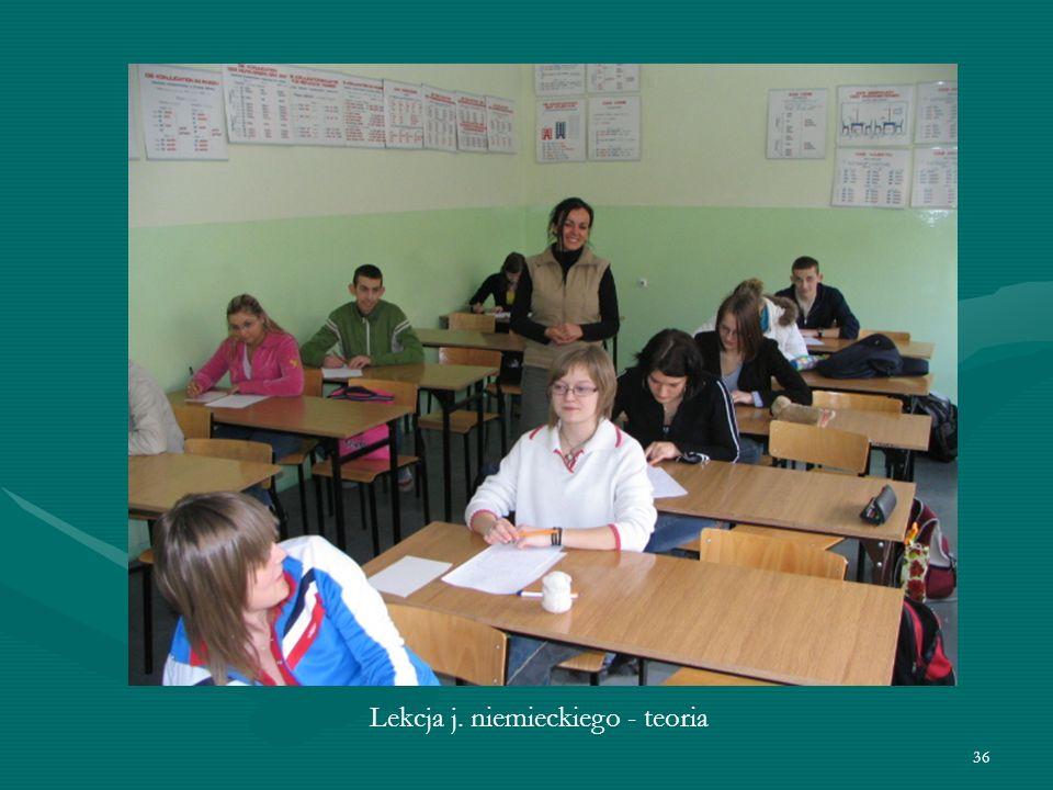 36 Lekcja j. niemieckiego - teoria