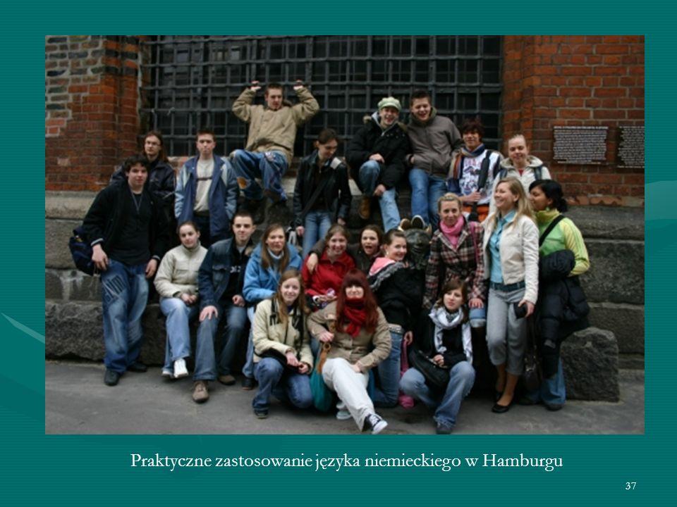 37 Praktyczne zastosowanie języka niemieckiego w Hamburgu