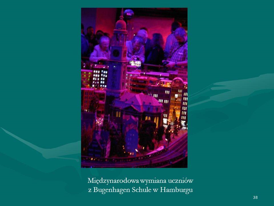 38 Międzynarodowa wymiana uczniów z Bugenhagen Schule w Hamburgu