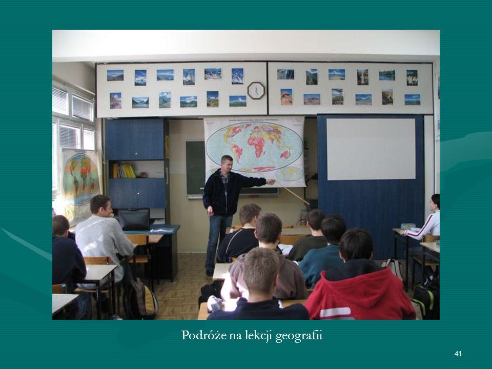 41 Podróże na lekcji geografii