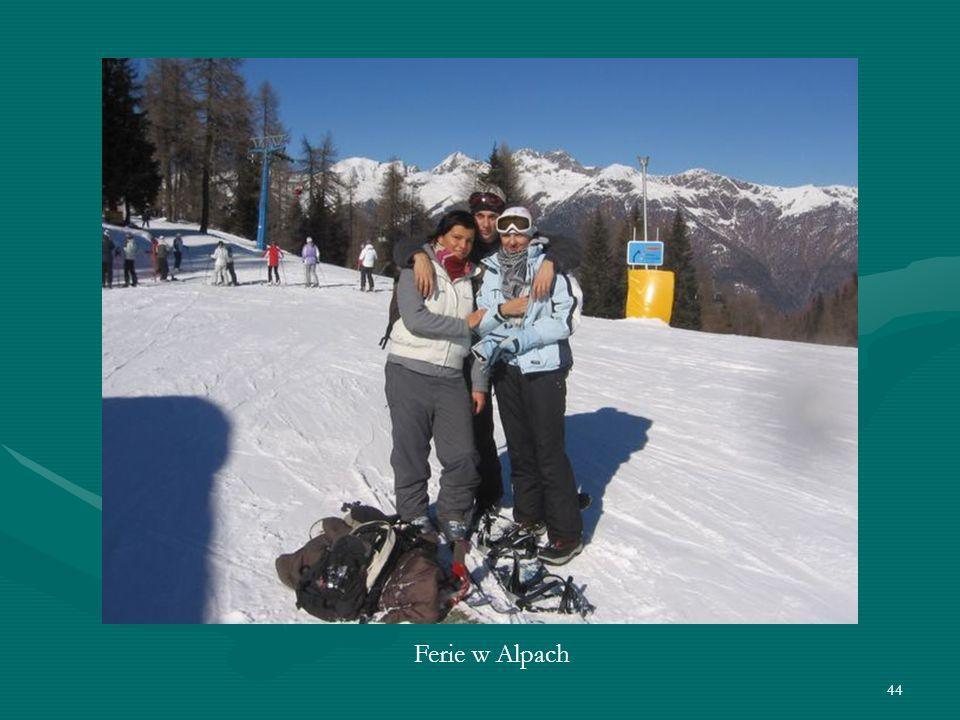 44 Ferie w Alpach