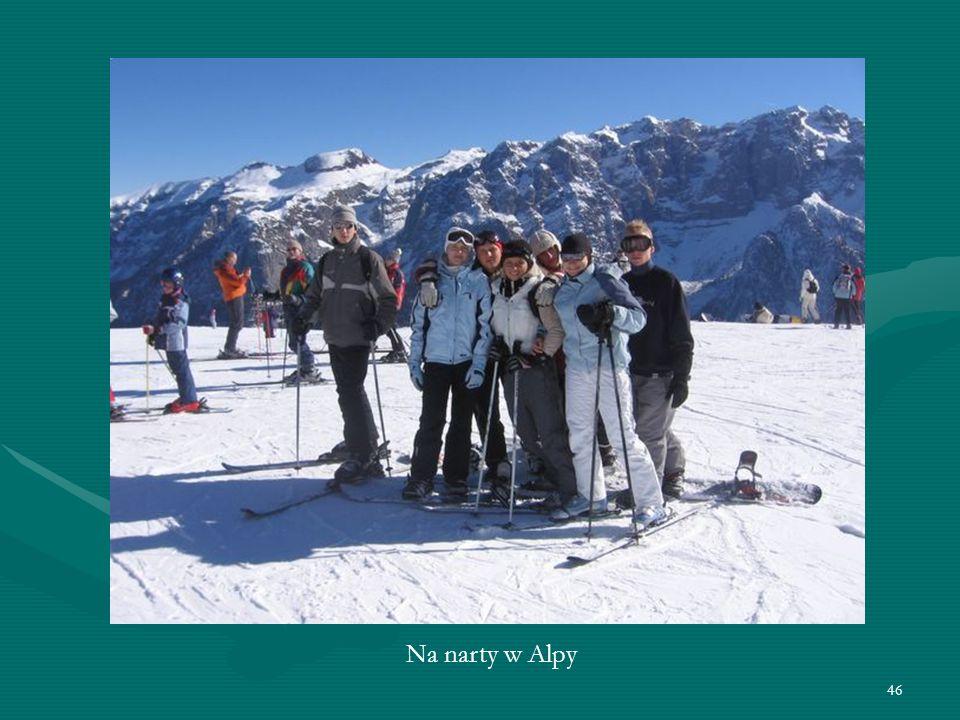 46 Na narty w Alpy