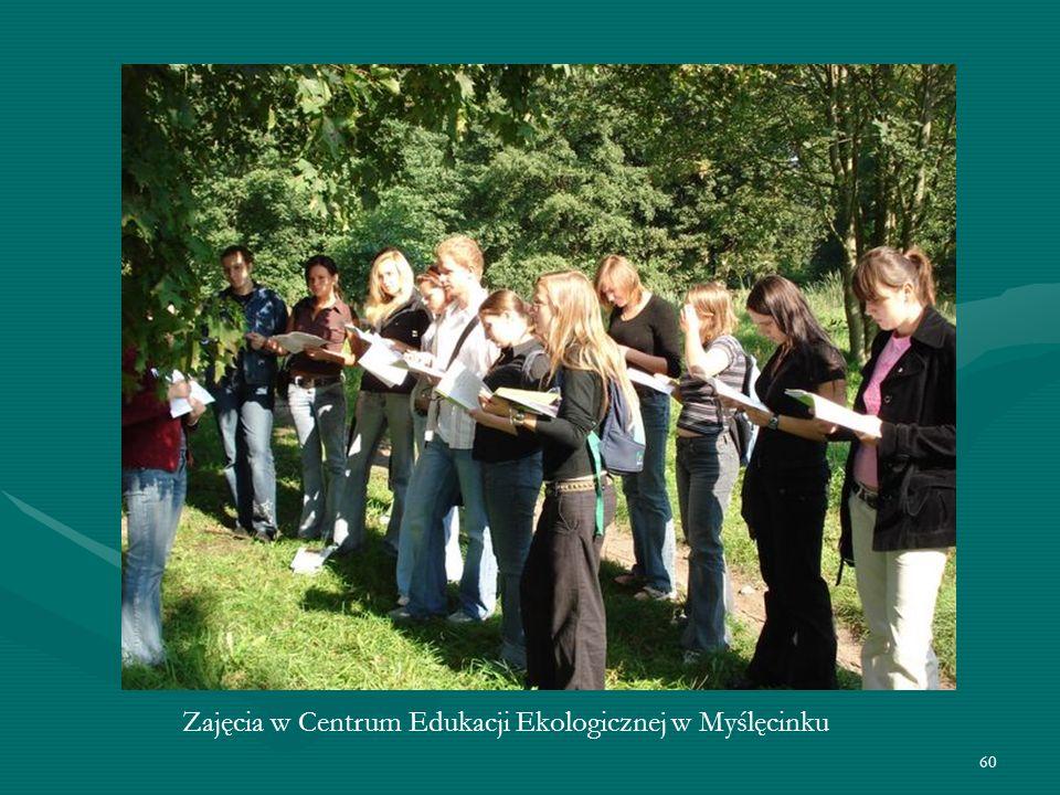 60 Zajęcia w Centrum Edukacji Ekologicznej w Myślęcinku