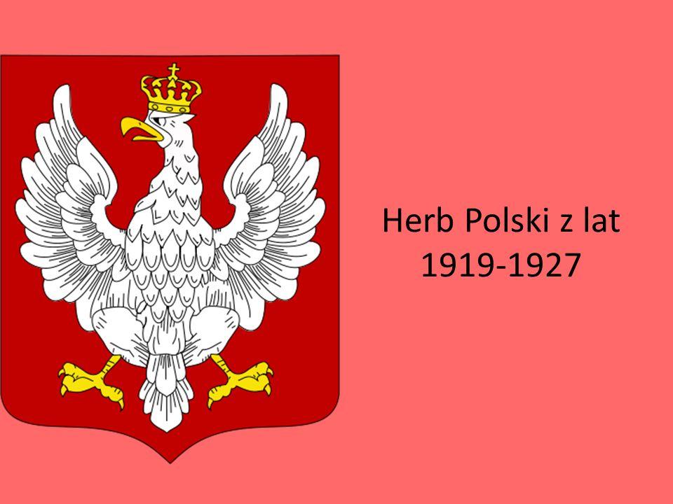 Herb Polski z lat 1919-1927