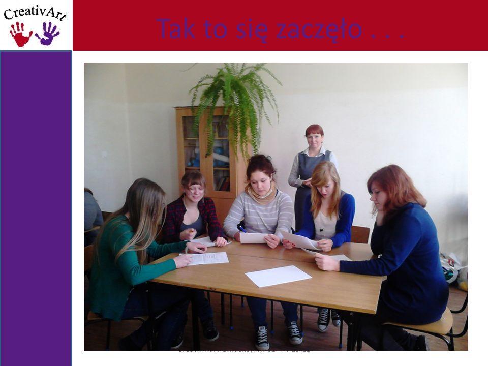 A oto nasz zarząd CreativArt nr ewidencyjny: 62-4-4-10-12 Paulina Jankowska dyrektor ds.