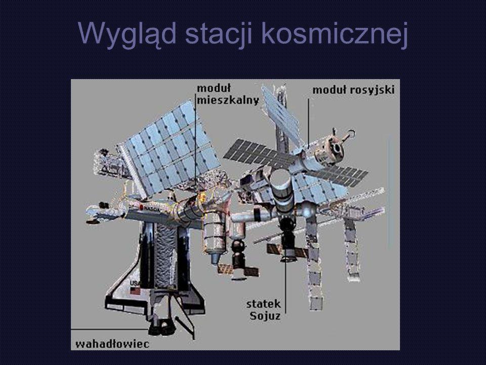 Wygląd stacji kosmicznej