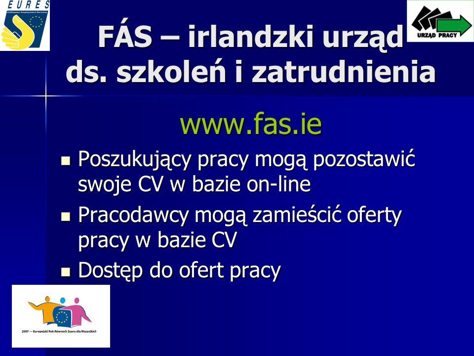 FÁS – irlandzki urząd ds.