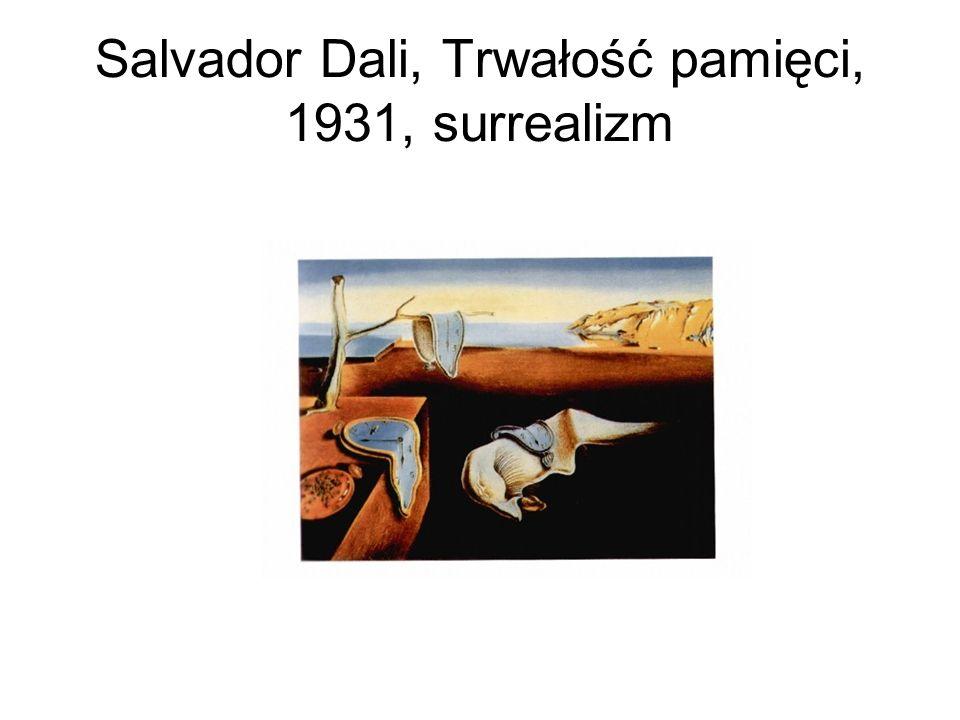 Salvador Dali, Trwałość pamięci, 1931, surrealizm