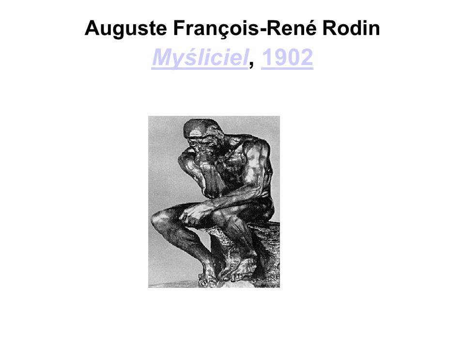 Auguste François-René Rodin Myśliciel, 1902 Myśliciel1902