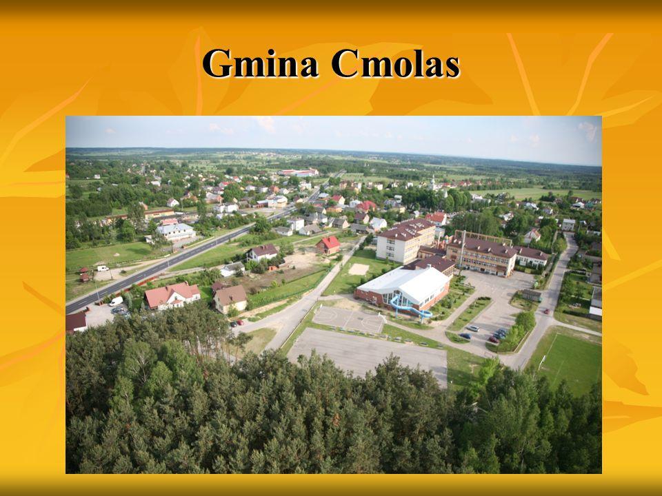 Gmina Cmolas Gmina mająca ponad 13 tys.ha powierzchni i ponad 8 tys.
