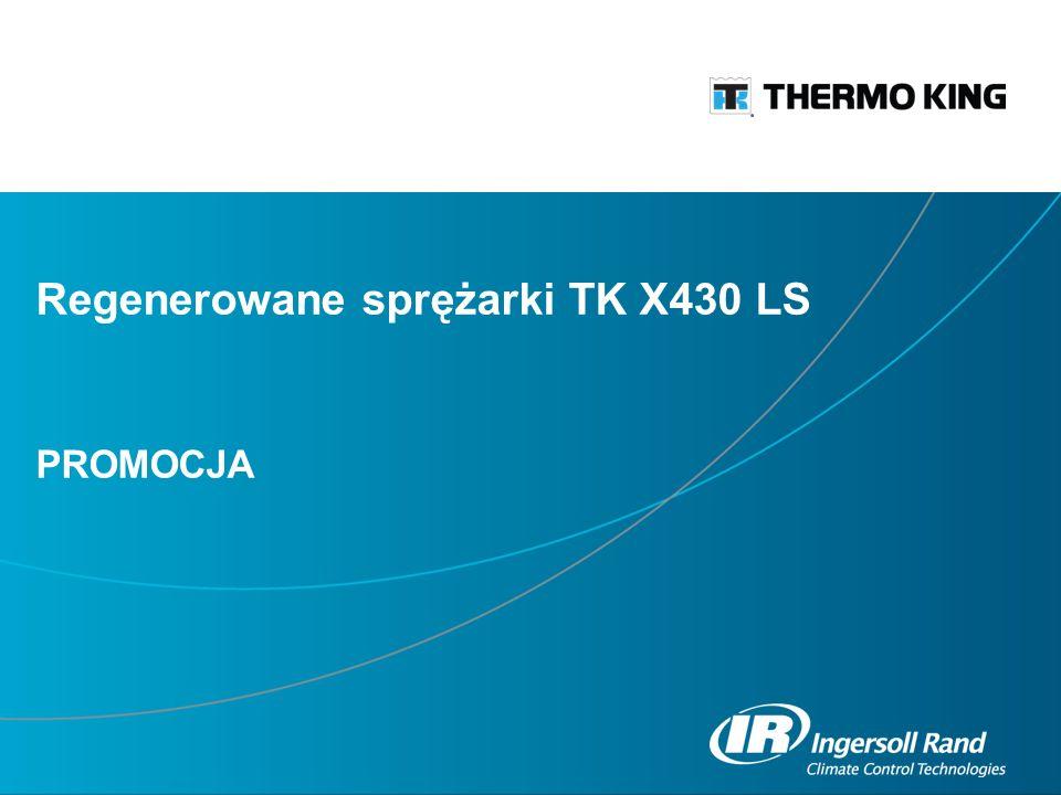 Regenerowane sprężarki TK X430 LS PROMOCJA