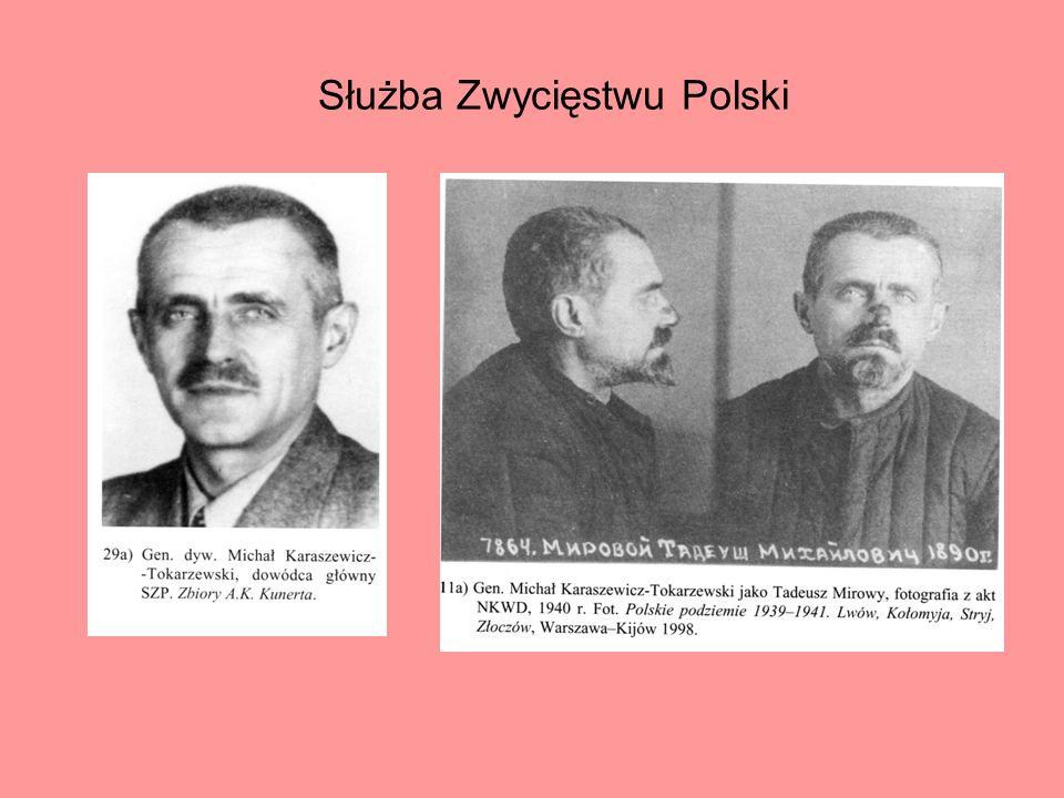 Władysław Anders dowódca WP w Związku Radzieckim, dowódca 2 Korpusu, Naczelny Wódz i GISZ od 02.10.1944 r.