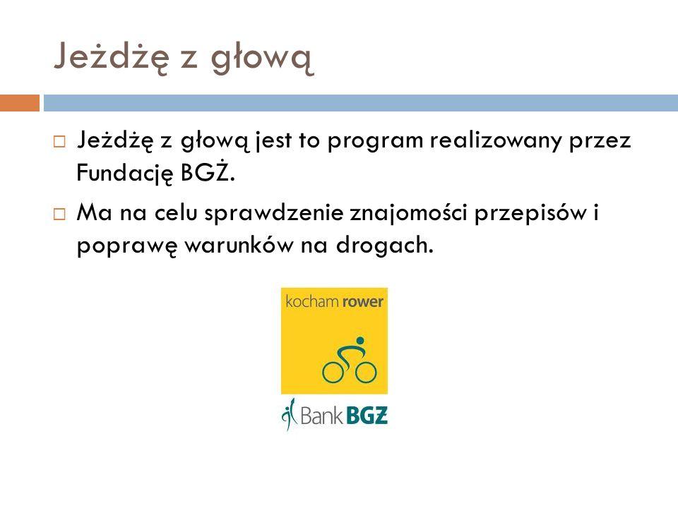 Obowiązkowe wyposażenie roweru: Lampa ze światłem białym lub żółtym skierowana do przodu.