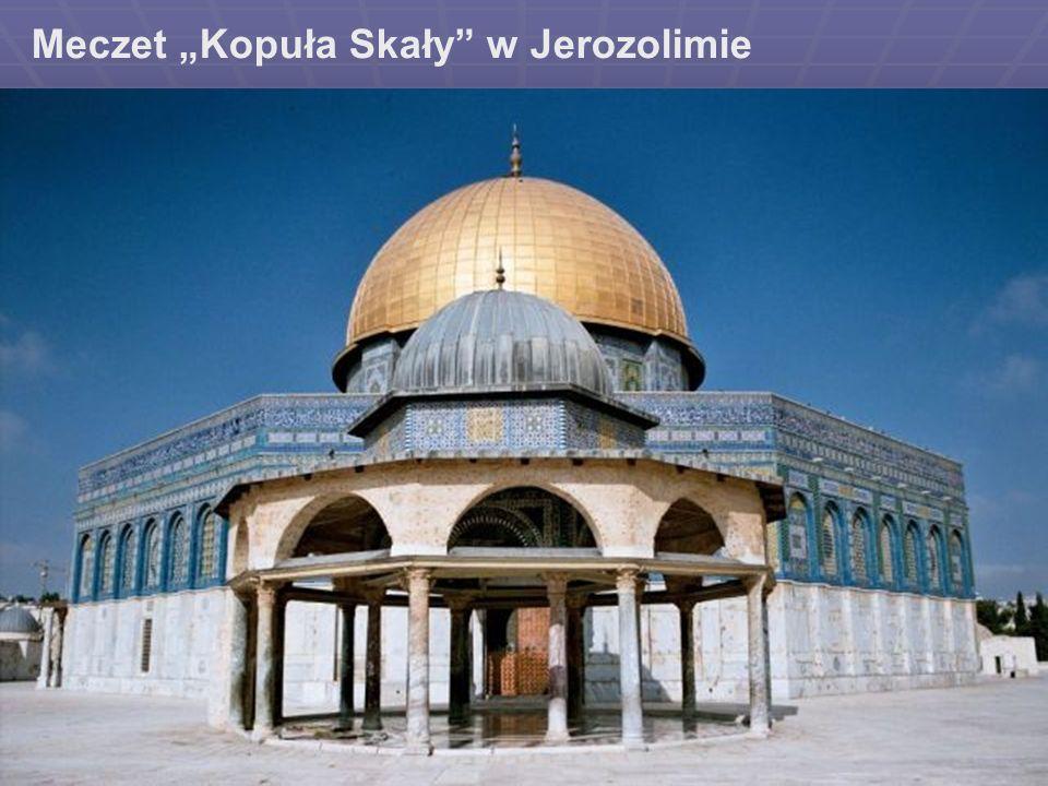 Meczet Kopuła Skały w Jerozolimie