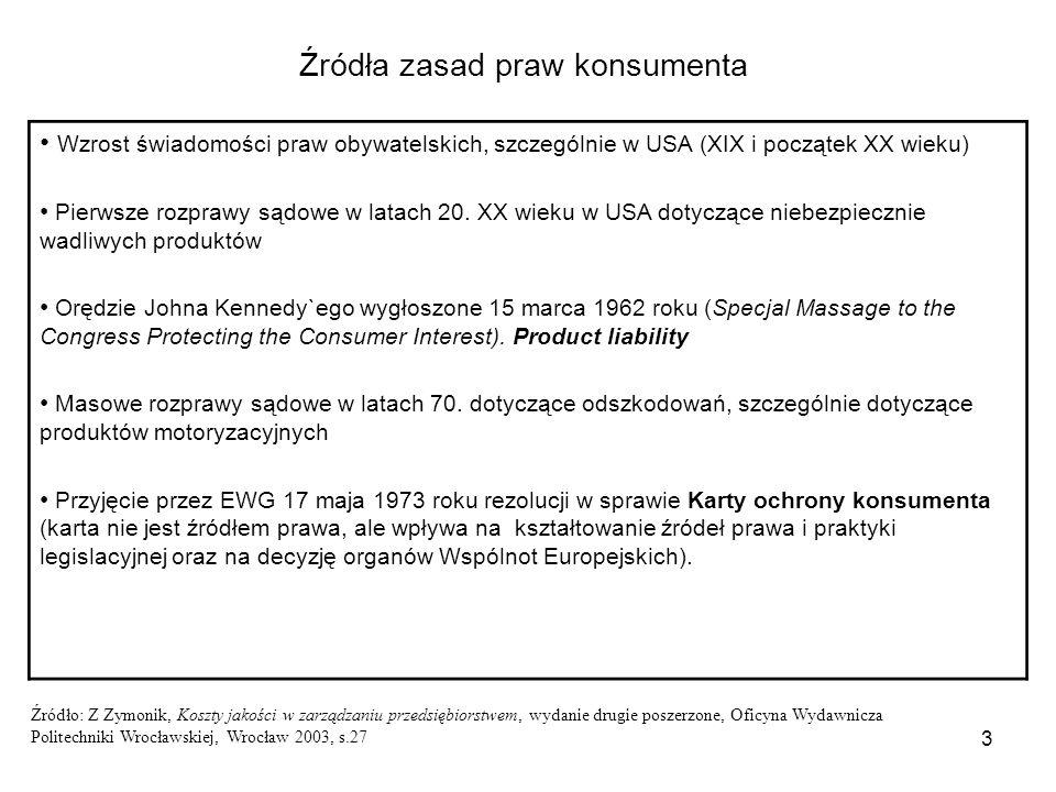34 Kategorie producentów w odpowiedzialności za produkt (product liability) 1.