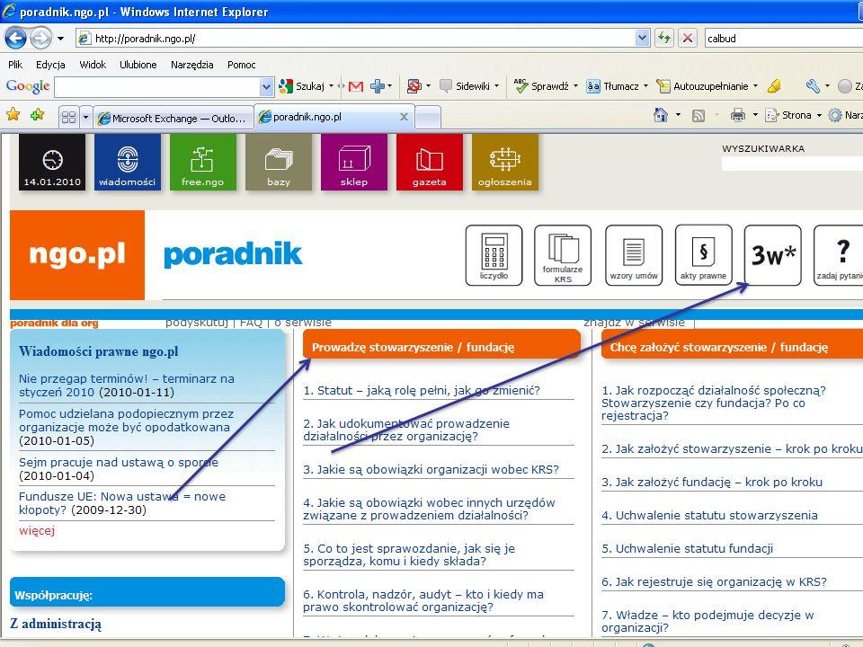 Copyright Paweł Szczyrski 2009 Ustawa wymienia 25 zadań ze sfery publicznej, które mogą być realizowane przez organizacje pozarządowe oraz podmioty wymienione w art.