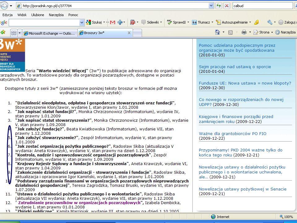 1.Sfera zadań publicznych, o której mowa w art. 3 ust.