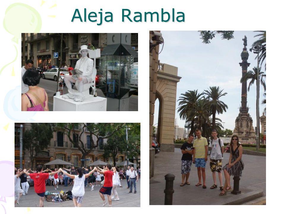 Aleja Rambla