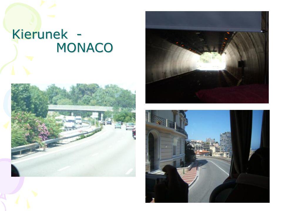 Kierunek - MONACO