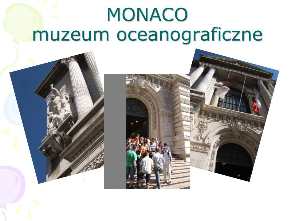 MONACO muzeum oceanograficzne