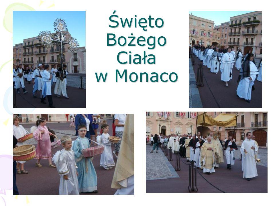Święto Bożego Ciała w Monaco