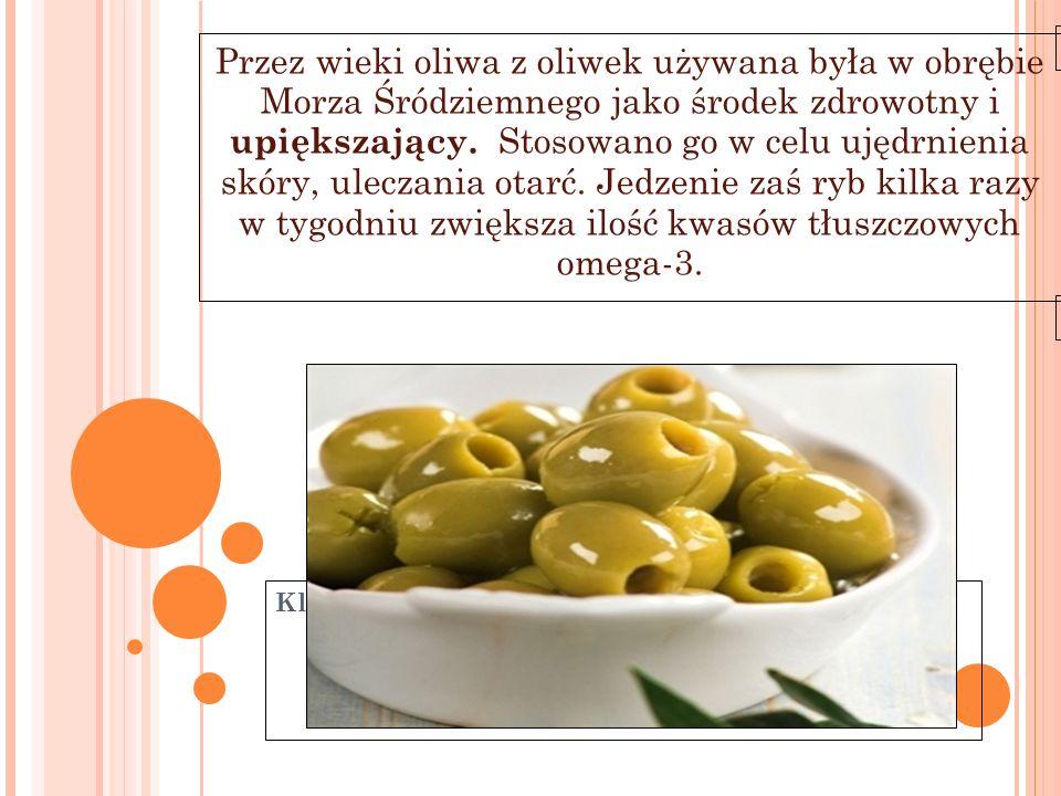 Kliknij, aby edytować styl wzorca podtytułu 11-6-21 Przez wieki oliwa z oliwek używana była w obrębie Morza Śródziemnego jako środek zdrowotny i upięk