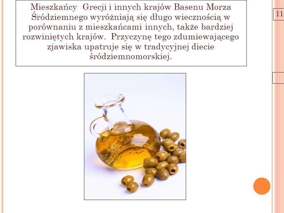 11-6-21 Mieszkańcy Grecji i innych krajów Basenu Morza Śródziemnego wyróżniają się długo wiecznością w porównaniu z mieszkańcami innych, także bardzie