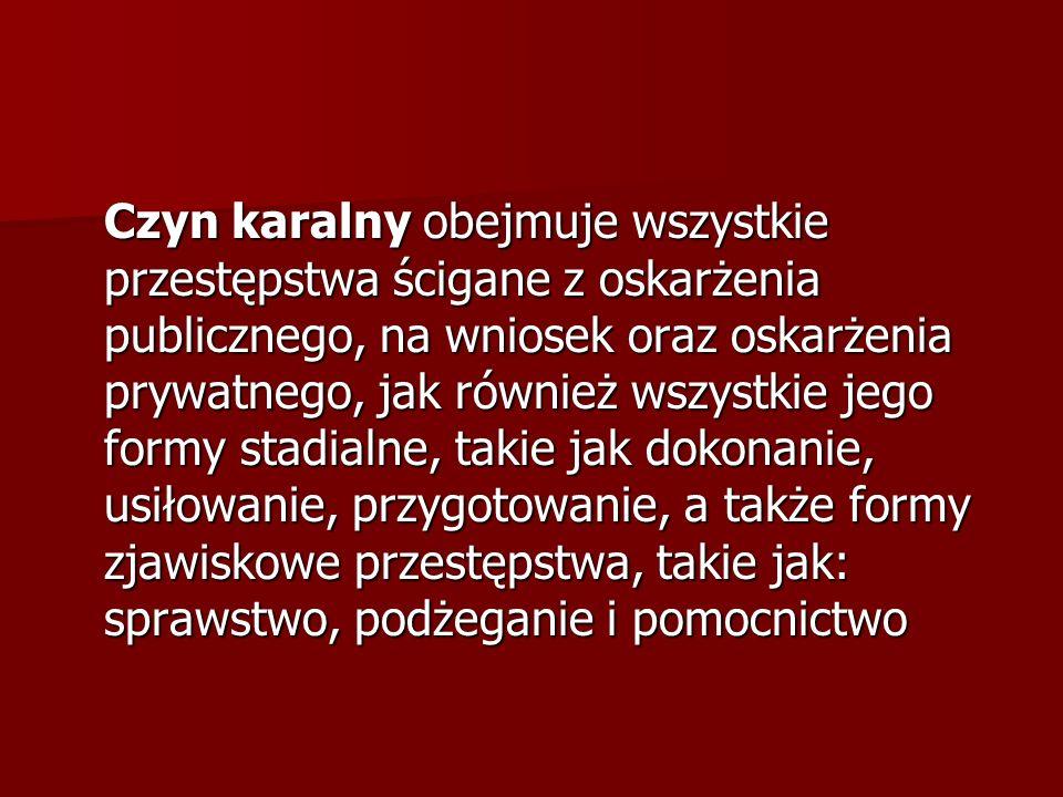 Wykroczenie - czyn człowieka społecznie szkodliwy, zabroniony przez ustawę obowiązującą w czasie jego popełnienia pod groźbą kary aresztu, ograniczenia wolności, grzywny do 5.000 złotych lub nagany.